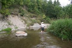 P-Doug looking upstream around the bend