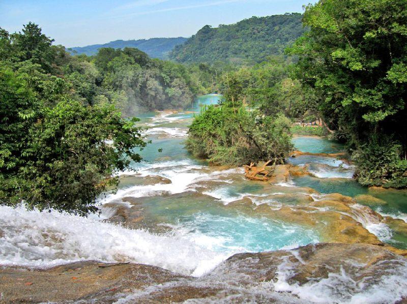 Aguas Azul/Chiapas