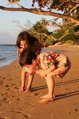 i spy with my little eye…a fish head at anini beach?