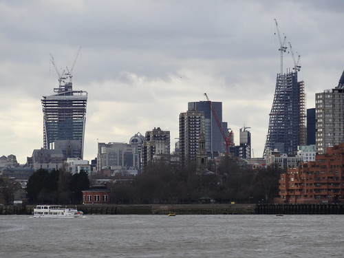 Walk 7 - Walkie Talkie and Cheesegrater - Jubilee Line walk 1