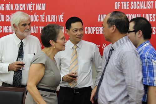 ILRI-MARD signing ceremony in Hanoi