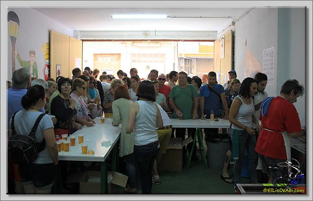 6 BriviescaenFiestas15 Concurso de pinchos de la Peña Los Desesperaos