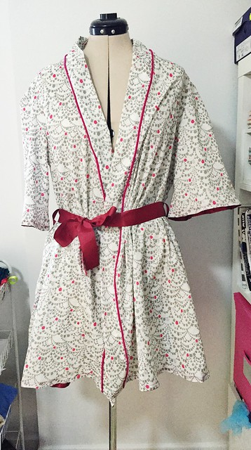 McCalls 6659 Dressing Gown