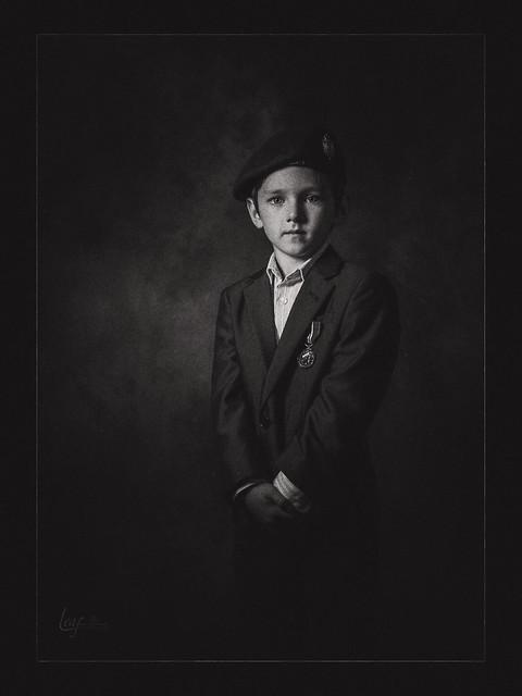 Boy soldier..