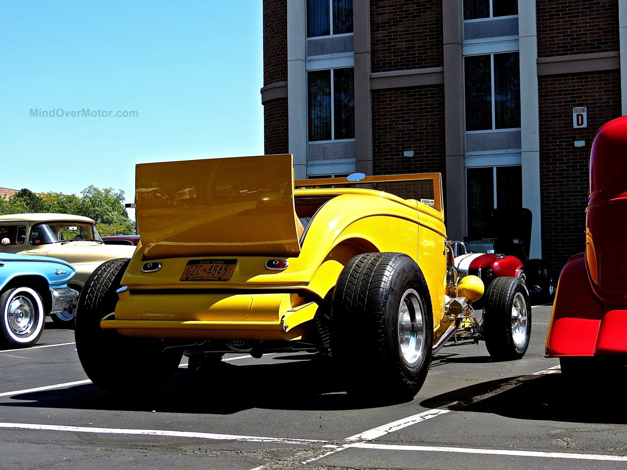 Lead East Yellow Ford Model A