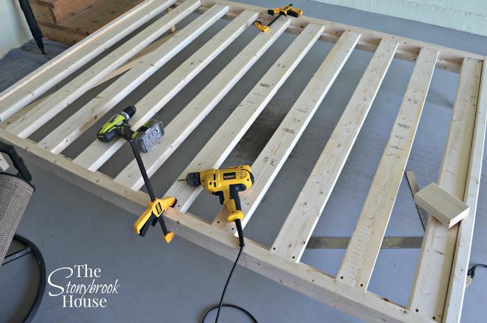 Installing Slats