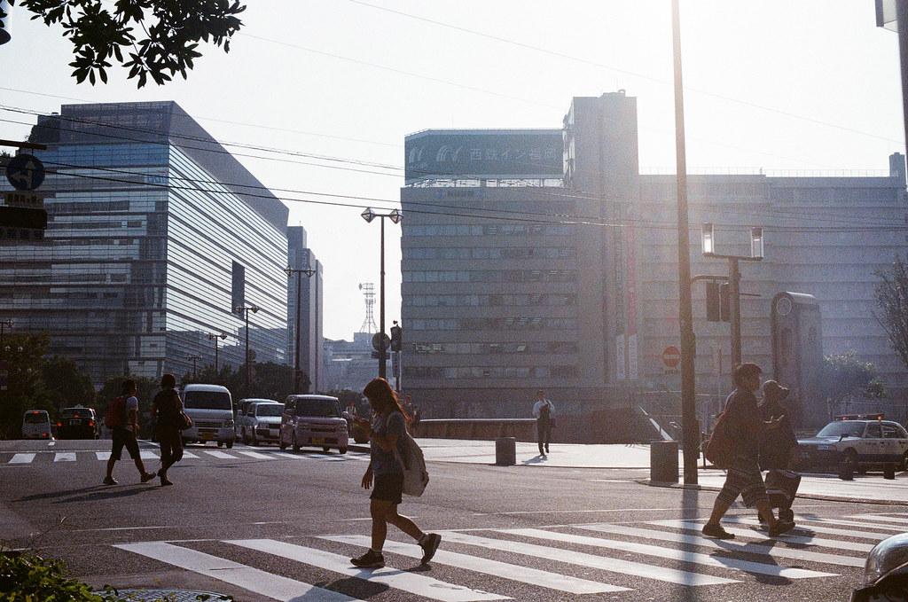 中洲 福岡 Fukuoka 2015/09/04 黃昏陽光  Nikon FM2 / 50mm Kodak UltraMax ISO400 Photo by Toomore