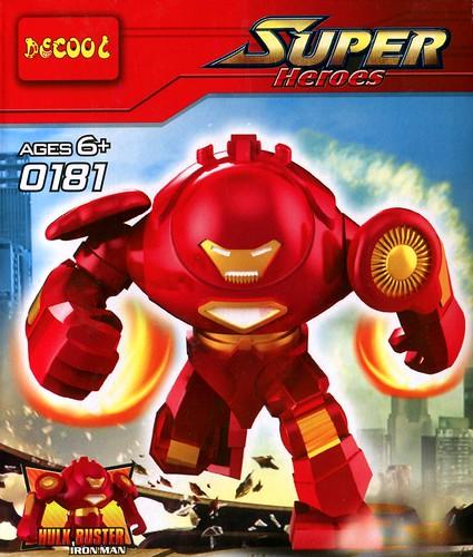 LEGO 76031 The Hulk Buster Smash c1