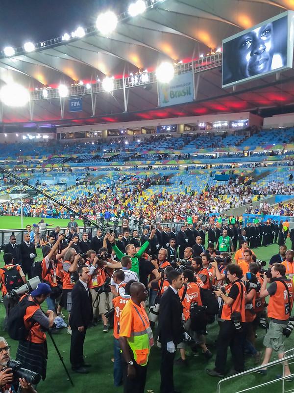 Manuel Neuer Weltmeister Feier WM 2014 Brasilien