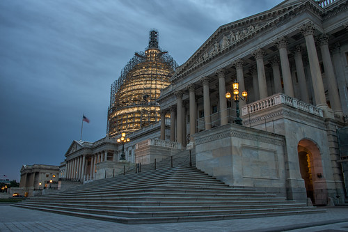 Capitol Hill at Dusk by Geoff Livingston