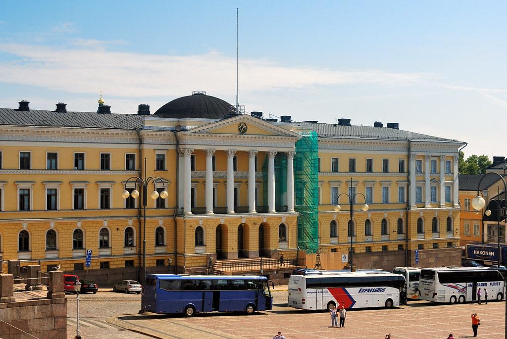 Helsinki Senatsgebäude