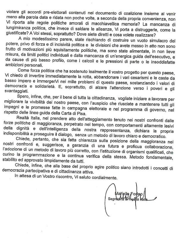 Casamassima- Lettera Forleo 4
