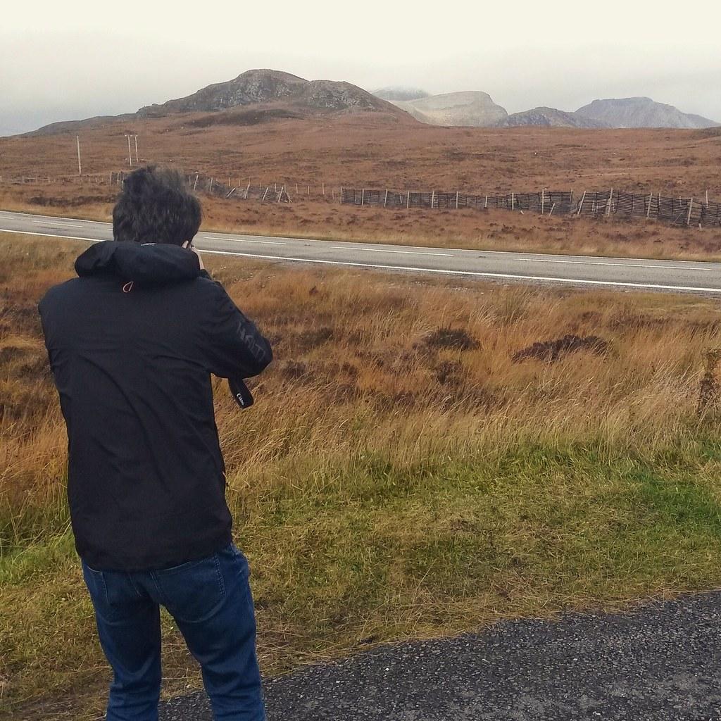 valokuvaaja, Skotlannin ylämaat