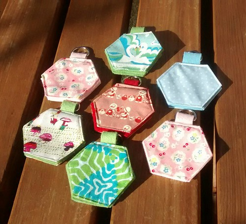 Hexagon needle cases