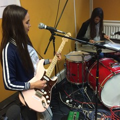 Marianne Dissard and Peluché perform live in session on The deXter Bentley Hello GoodBye Show on Resonance 104.4 FM in Central London on Saturday 10th October 2015