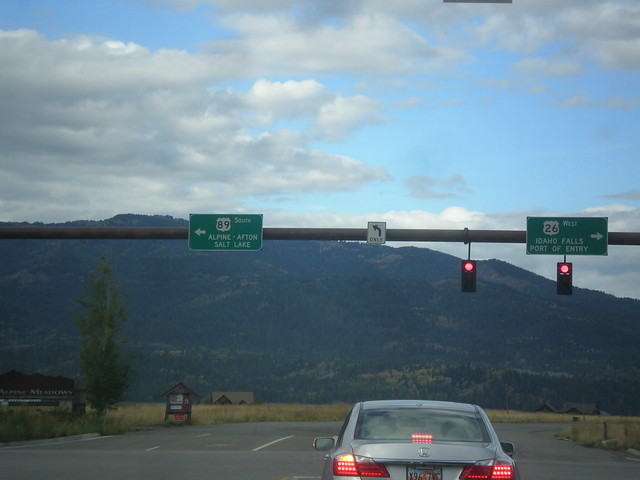 US-26 West/US-89 South - Alpine Junction