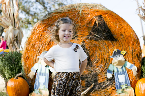 Pumpkin Patch with Dakota