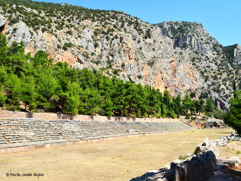Estadio del recinto arqueológico de Delfos