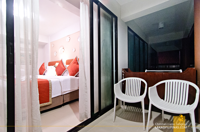 White House Boracay Deluxe Room Balcony