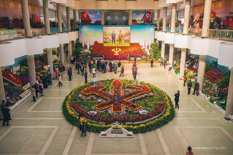 Flower Exhibition for the 70th Anniversary of Workers' Party