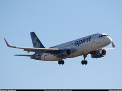 Spirit Airbus A319