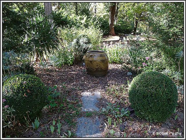 הגינה הגדולה של Domaine de Rasigous