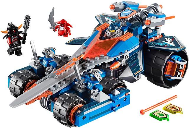 LEGO Nexo Knights 70315 - Clay's Rumble Blade