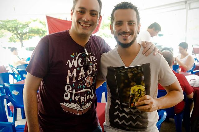 Tarde literária em Brasília