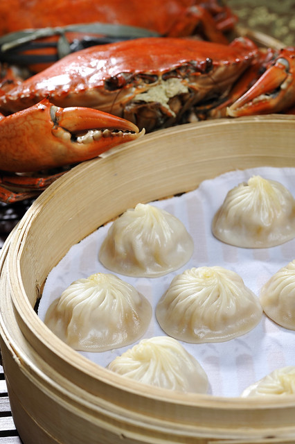 Crab Roe and Pork Xiao Long Bao