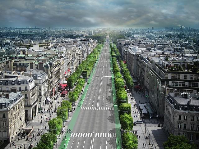 Copenhagenize The Champs-Élysées