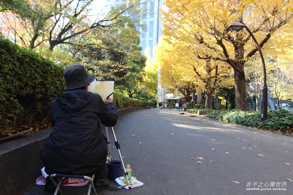 東京賞楓-日比谷公園45