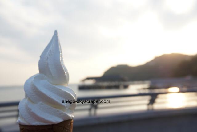 赤柱 ソフトクリーム