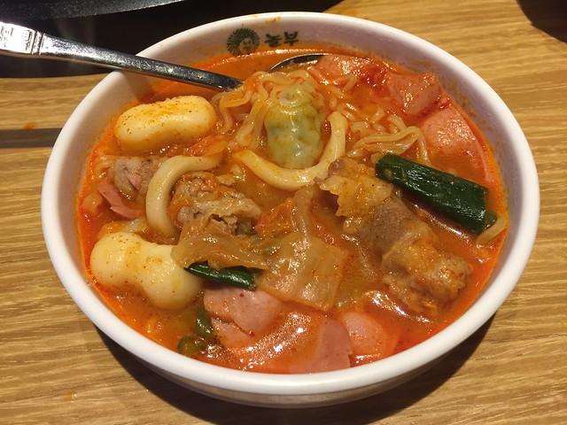 Beef budae jjigae - Nolboo Kitchen