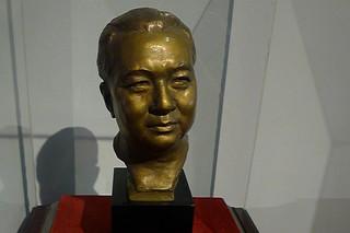 Ilocos Sur - Burgos National Museum Elpidio Quirino bust