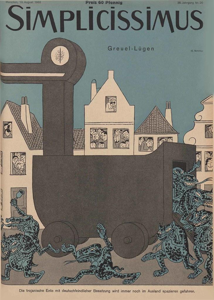 Erich Schilling - Abomination Lies, 1933