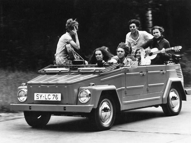 Внедорожник Volkswagen Type 181. 1969 – 1980 годы