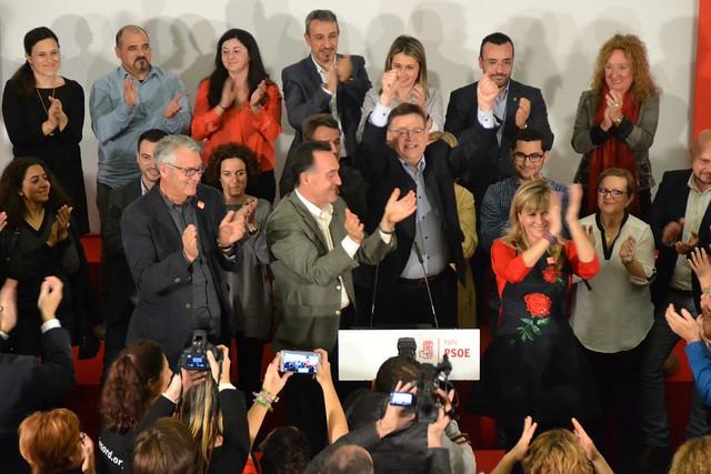 Acto central Castellón - Elecciones 20-D (17/12/15)