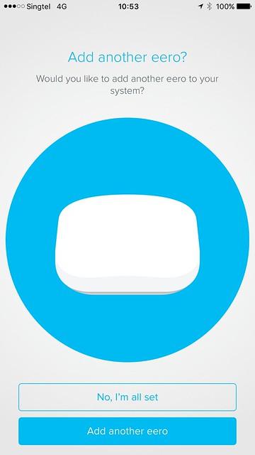 eero iOS App - Setup - #12