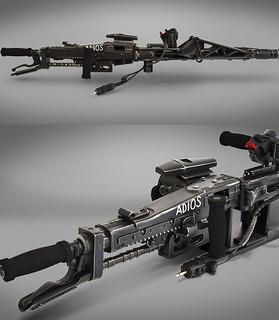 宇宙打怪必備品!HCG - 《異形2》M56智能槍 1:1 複製品 Aliens M56 Smartgun 1:1 Prop Replica