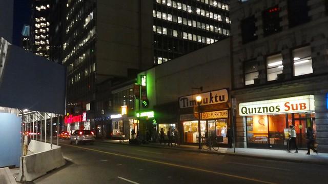 Downtown Toronto Night