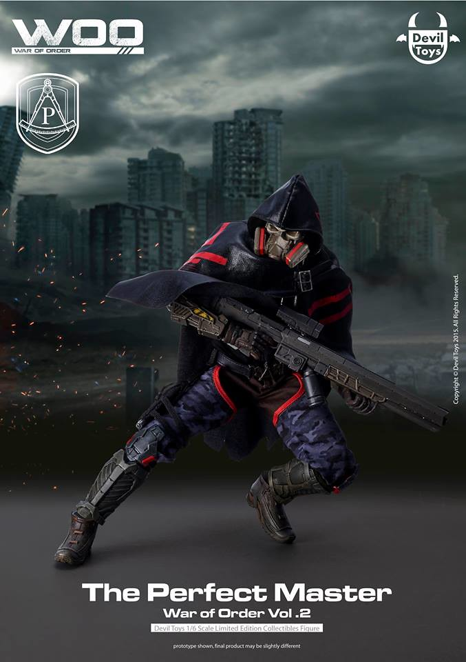待望已久的科幻軍武新作再臨!Devil Toys - The Perfect Master 1/6th scale collectible figures
