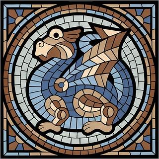 Mosaic Dragon (2) / Мозаичный дракон (2)