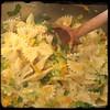 #Homemade #PastaAiFioriDiZucca #CucinaDelloZio - while pasta... Salt and pepper to taste