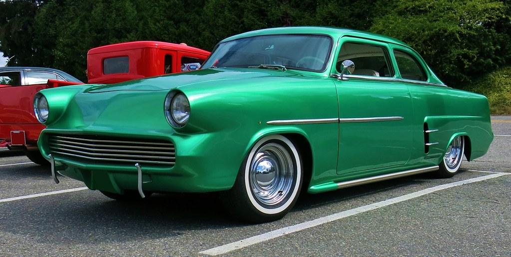1953 ford customline tudor sedan kustom a photo on for 1953 ford 2 door sedan