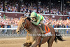 Keen Ice and Javier Castellano defeat American Pharoah and win the GI Travers S. at Saratoga