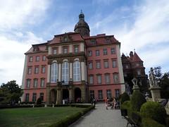 Castle Książ in Wałbrzych, Poland.