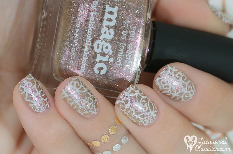 31DC2015 Day 08: Metallic nails