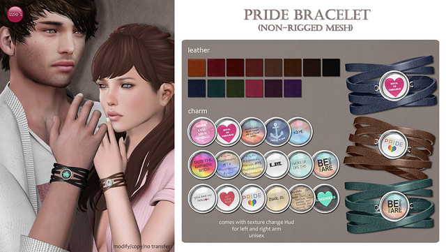 Pride Bracelet for GEN-neutral (coming soon)
