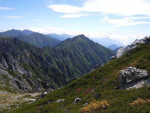 blue sky mountain nature trekking outdoor mountaineering 日本 長野県 駒ヶ根市