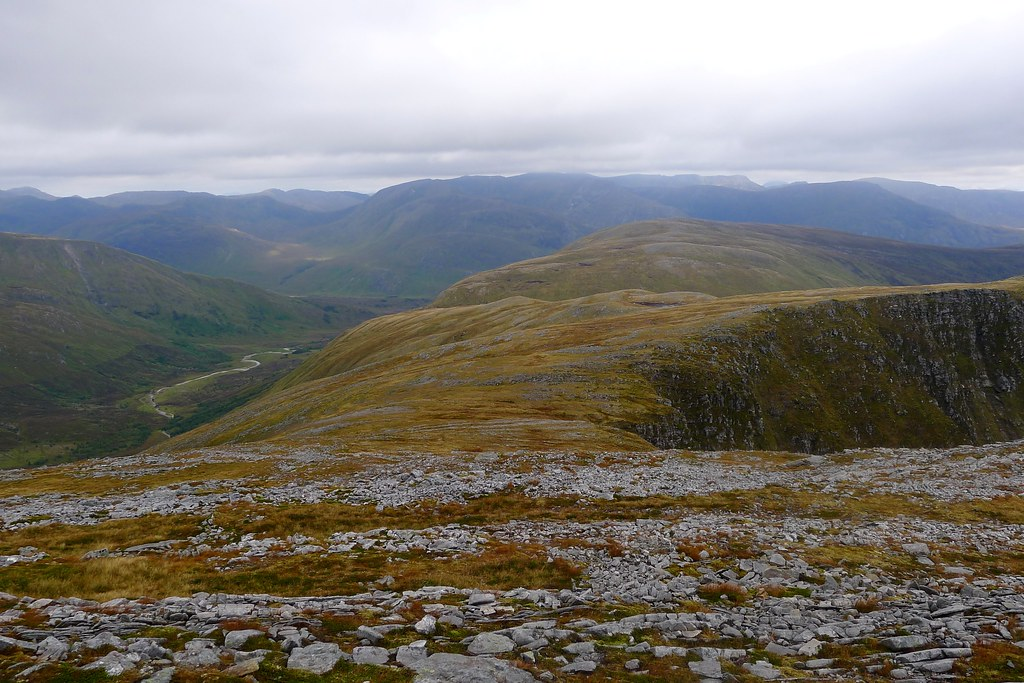 Looking to Carn a' Choire Ghairbh